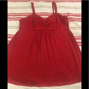 Soma Intimates Red Chemise Nightgown XL